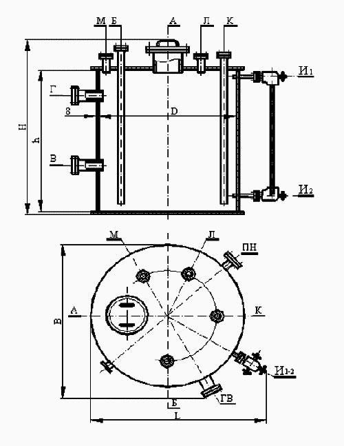 Емкости стальные, завод емкостного оборудования в самаре.